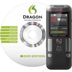 Philips Voice Tracer DVT 2710 With Dragon Speech Software
