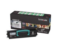 E352H11E Lexmark Laser Toner Cartridge Refill Black