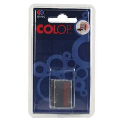 Colop E/10/2 Replacement Pad Blue /Red