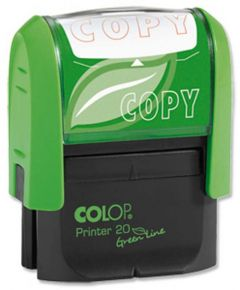 Colop Word Stamp Green Line Copy GLP20COPY
