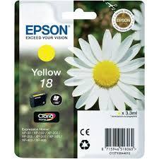 T180440 Epson Inkjet Cartridge Refill Ink Yellow T1804