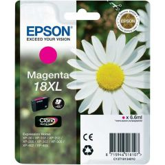 T181340 Epson 18XL Inkjet Cartridge Refill Ink Magenta T1813