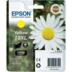 T181440 Epson Inkjet Cartridge Refill Ink 18XL Yellow T1814