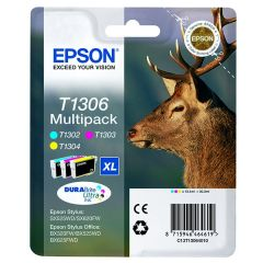 Epson T1306 Inkjet Cartridge Extra HY 10.1ml x 3