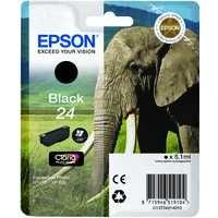 Epson XP750/850 Elephant 24 Inkjet Cartridge Black C13T24214012