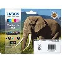 Epson XP750/850 Elephant Inkjet Cartridge KCMYLCLM Pk 6