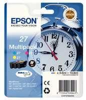Epson WF3620 Alarm Clock Inkjet Cartridge 3 Colour Multi