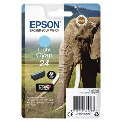 Epson XP750/850 Elephant 24 Inkjet Cartridge Light Cyan C13T24254010