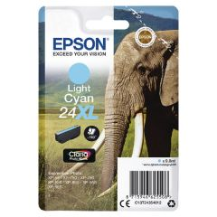 Epson 24XL Light Cyan High Yield Inkjet Cartridge C13T24354012