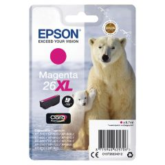 Epson No26XL Magenta Polar Bear Inkjet Cartridge