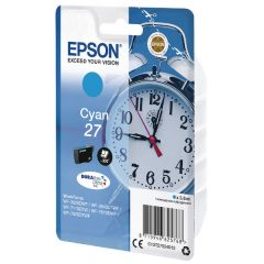 Epson WF3620 Alarm Clock Inkjet Cartridge Cyan C13T27024012