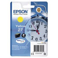 Epson WF3620 Alarm Clock Inkjet Cartridge Yellow C13T27044010