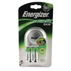 Energizer Base Battery Charger 4x AA Batteries
