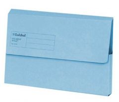 Guildhall Document Wallet BA Blue GDW1-BLU