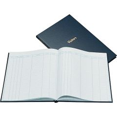 Company Visitors Book Blue By Guildhall