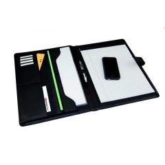 Monolith Conference Folder With A4 Pad Black