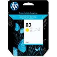 HP 82 Inkjet Cartridge Yellow C4913A