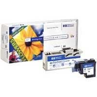 HP 81 Dye Print Head and Cleaner Light Cyan C4954A