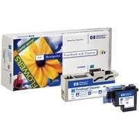 HP 83 UV Print Head and Cleaner Cyan C4961A