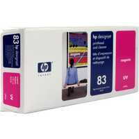 HP 83 UV Print Head and Cleaner Magenta C4962A