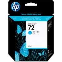 HP Cyan 72 Ink Cartridge 69ml C9398A