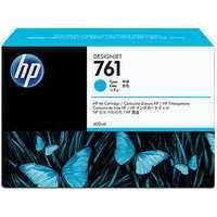 HP 761 Design Jet Inkjet Cartridge 400ml Cyan CM994A