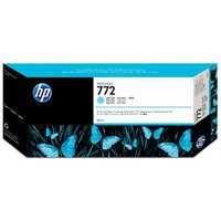 HP 772 Design Jet Inkjet Cartridge 300ml Light Cyan CN632A