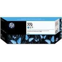 HP 772 Design Jet Inkjet Cartridge 300ml Cyan CN636A
