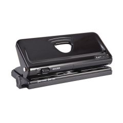 6 Hole Diary Punch Rapesco Black
