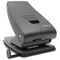 Rapesco 835 Heavy Duty 2-Hole Punch Black