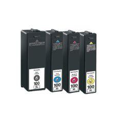 Lexmark 100XL Cyan/Magenta/Yellow/Black