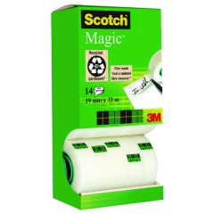 Scotch Magic Tape 810 Tower Pack 19mm x 33m Pk14