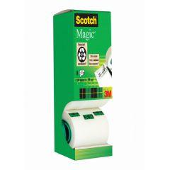 Scotch Magic Tape 810 Tower Pack 19mm x 33m 8Pk