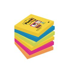 Post-it Super Sticky Notes 76x76mm Rio (6 Pack) 654-6SS-RIO-EU