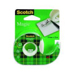 Scotch Magic Tape 810 19mm x 25m 3Pk