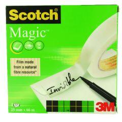 Scotch Magic Tape 810 25mmx66m Transparent