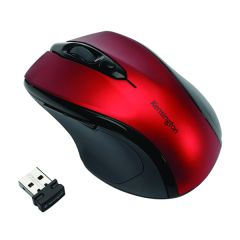 Kensington Pro Fit Mid Size Red USB Wireless Mouse