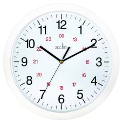 Acctim Metro 24 Hour Wall Clock