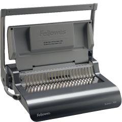 Fellowes Grey Quasar+ 500 Manual Comb Binding Machine