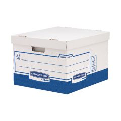 Fellowes Basics Storage Box Heavy Duty Large