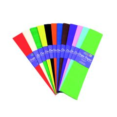 Bright Ideas Crepe Paper Assorted (12 Pack)