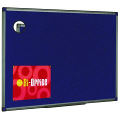 Bi-Office Felt Noticeboard 600x450mm Blue