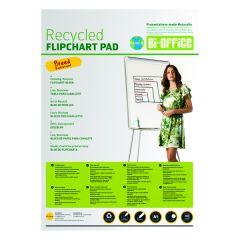 Bi-Office Earth Plain Flipchart Pad A1 40 Sheet Pk5