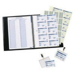 Durable Visitors Book Refill Pack 100