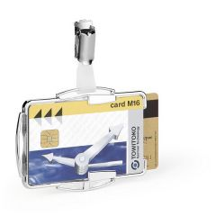 Durable RFID Secure Card Holder Duo (10 Pack)
