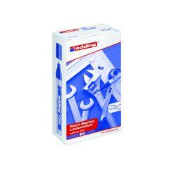 Edding 750 Opaque White Bullet Tip Paint Marker 10's