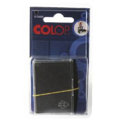 COLOP E/2600 Replacement Ink Pad Black (2 Pack)