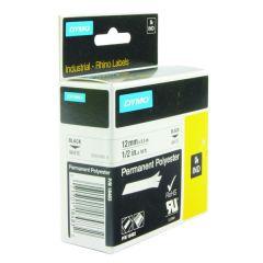 Dymo White Rhino Polyester Tape 12mmx5.5m