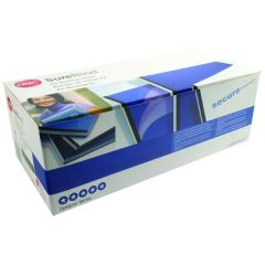 GBC SureBind Secure Binding Strips 25mm A4 Black Pk100