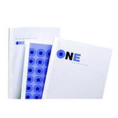GBC White Gloss Thermal Binding Covers 1.5mm Pk100